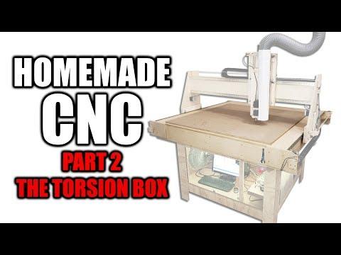 Homemade CNC Router Part 2 - Building the Torsion Box