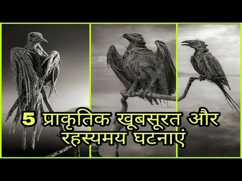 5 प्राकृतिक खूबसूरत और रहस्यमय घटनाएँ / Most shocking natural phenomena on earth/amazing facts hindi