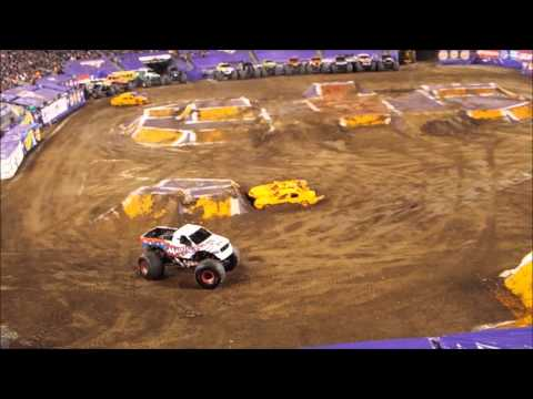 East Rutherford Monster Jam 4/23/2016 - Donuts + Freestyle Competition
