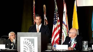 NCAI - National Congress of American Indians 2018 - Denver Colorado - Representative Ben Ray Lujan