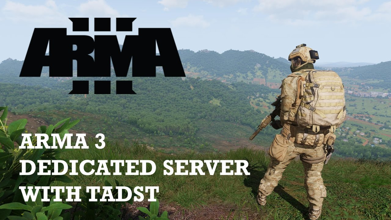 Arma 3 dedicated server with mods