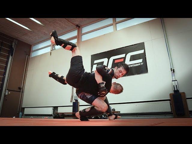 EFFECTIEVE MMA takedowns | Vliegles van Kees| DFC Ridderkerk
