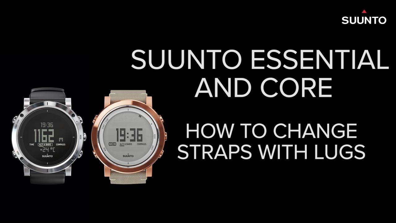 Comment puis je changer le bracelet de ma montre Suunto ?