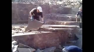 видео Камень для облицовки строительных конструкций