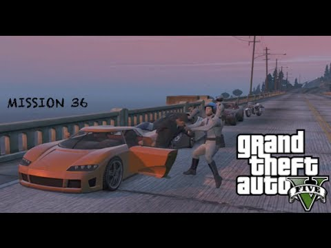 GTA V Lets Play - MISSION 36 - I FOUGHT THE LAW (Walkthrough/Commentary)