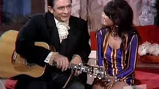 Linda Ronstadt & Johnny Cash - I Never Will Marry(The Johnny Cash Show 720p)