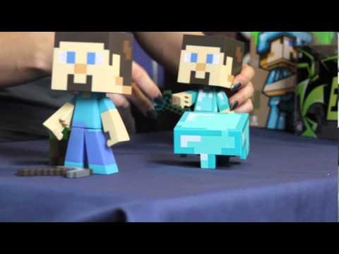 Minecraft Vinyl Figures Unboxing!
