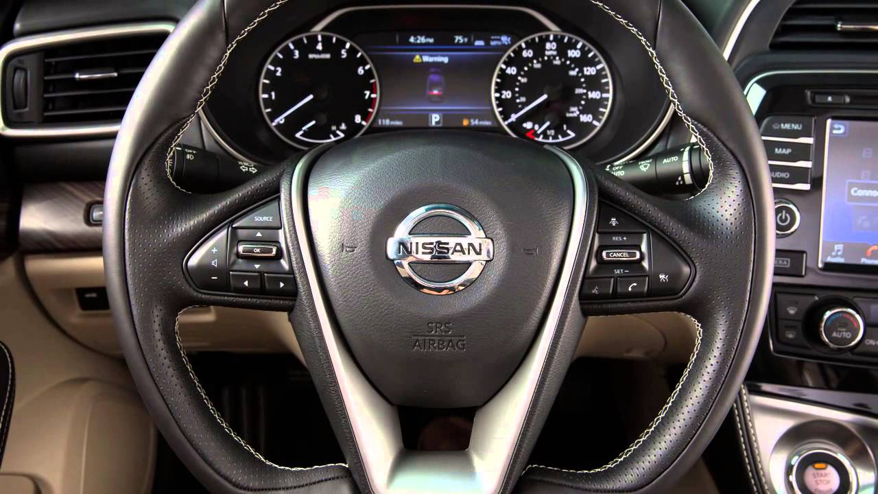 2016 Nissan Maxima - Heated Steering Wheel (if so equipped ...