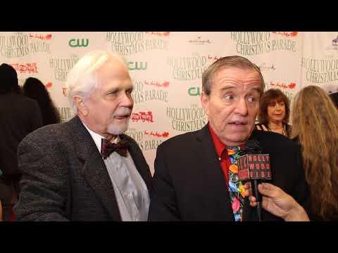 Traci Lynn Cowan with Jerry Mathers & Tony Dow at Hollywood Xmas Parade.