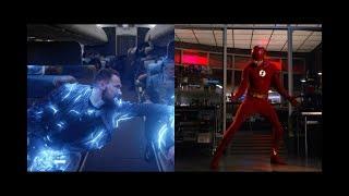 Gridlock sabotea el avión | El nuevo traje de Flash - THE FLASH 5X01.