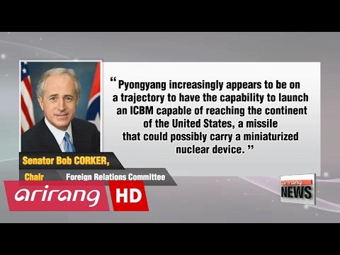 U.S. lawmakers, experts discuss U.S. policy on N. Korea at Senate hearing