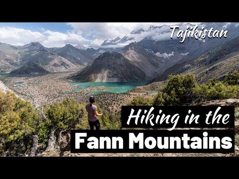 BEST MOUNTAIN VIEWS EVER?!? Hiking In Fann Mountains, Tajikistan