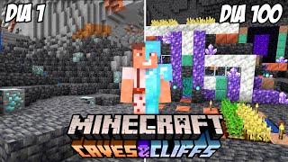 """Paso Minecraft pero es la Nueva Actualización 1.17 """"Cuevas y Acantilados"""""""