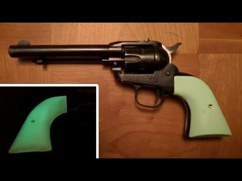 Homemade Revolver Grips - Part 1 - Ruger Single Six