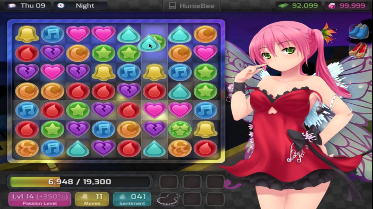 huniepop alpha mode