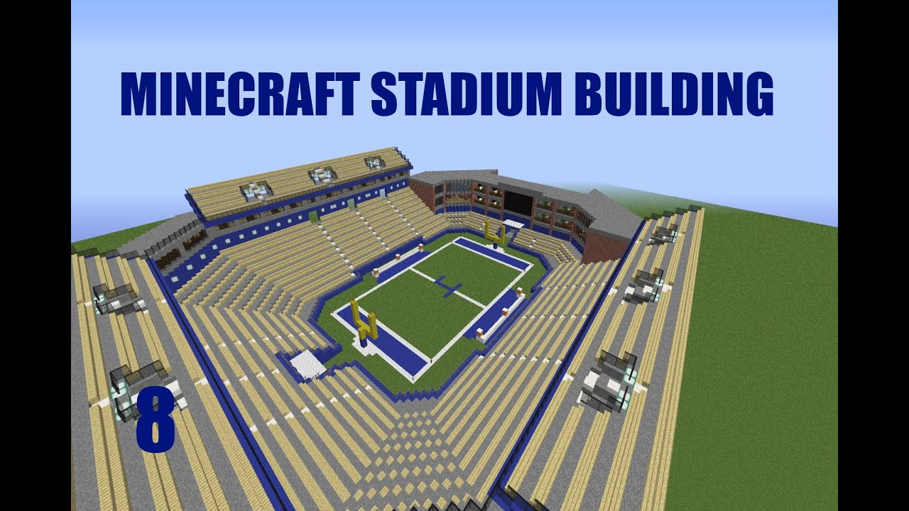 c4b3652f3af Minecraft Stadium Building EP.8: The Upper Deck - YouTube