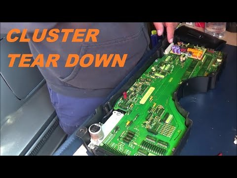 Video 28: 1985 C4 Corvette: Working On Gauge Cluster / Disassembly Of Cluster / Replace Light Bulb