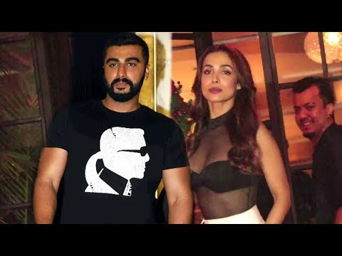 Malaika Arora & Arjun Kapoor Roaming Hand In Hand After 0fficially Declaring Their Relationship
