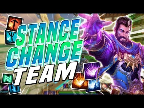 Smite: Stance Change Team - Joust 3v3 - WE HAVE SO MANY ABILITIES!