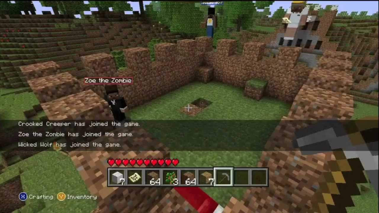MINECRAFT XBOX 360 THOUGHTS AND IDEAS!!!