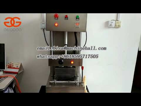 Pizza Cone Machine With Factory Price|Pizza Cone Production