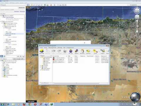 Télécharger Cartes d'état major depuis google earth
