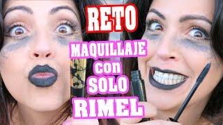 Maquillaje con Solo Mascara de Pestañas! Reto - Lunes de Tag con SandraCiresArt