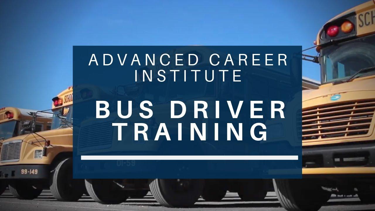 School Bus Driver Training at Advanced Career Institute