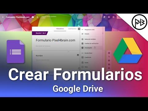 La Guía Definitiva Crear Formularios En Google Drive 2020 Youtube