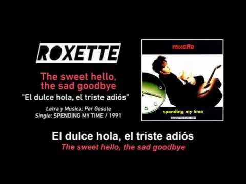 roxette the sweet hello the sad goodbye bassflow