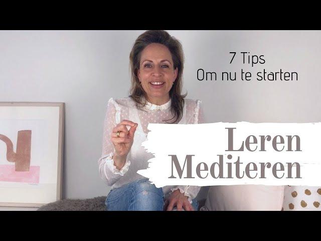 Leren mediteren. 7 Tips om te starten met mediteren | The School of Business Growth