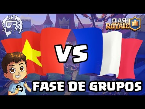 CR WORLDS - VIETNAM VS FRANCIA - KManuS88 - Clash Royale