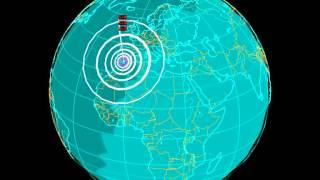 EQ3D ALERT: 1/24/16 - 5.3 and 5.0 magnitude aftershocks earthquake in the Alboran Sea