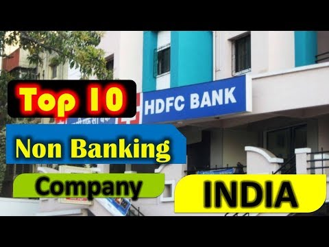 Top 10 Non Banking Financial Companies in India 2018