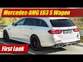 2018 Mercedes-AMG E63 S Wagon: First Look