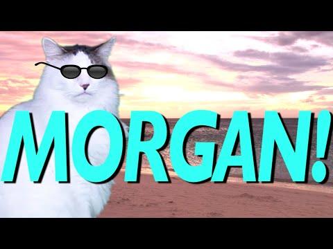 HAPPY BIRTHDAY MORGAN! - EPIC CAT Happy Birthday Song