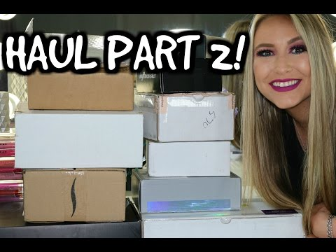 MAIL HAUL- WHATS NEW IN MAKEUP & GIVEAWAY!