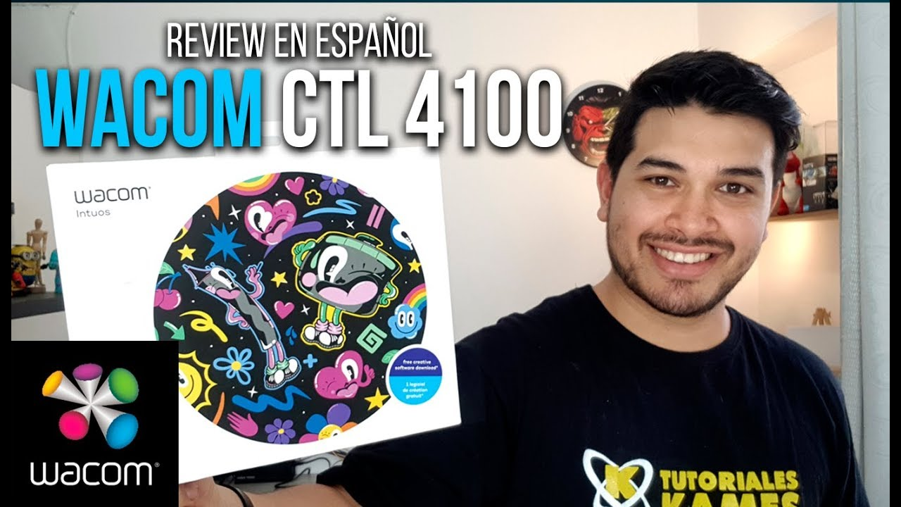 Review Tableta Wacom Ctl 4100 En Espaol Youtube Intuos K0 Cx