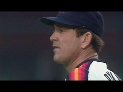 1986 NLCS Gm5: Nolan Ryan strikes out 12