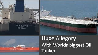 Worlds biggest Oil Tanker and an allegory