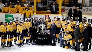 Nashville Predators clinches first-ever conference title; advances to Stanley Cup Final thumbnail