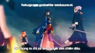 【 Touken Ranbu PV 】 Mugenranbushou - Itagaki Soutarou 【 Vietsub 】