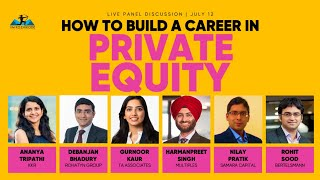 How to build a career in private equity