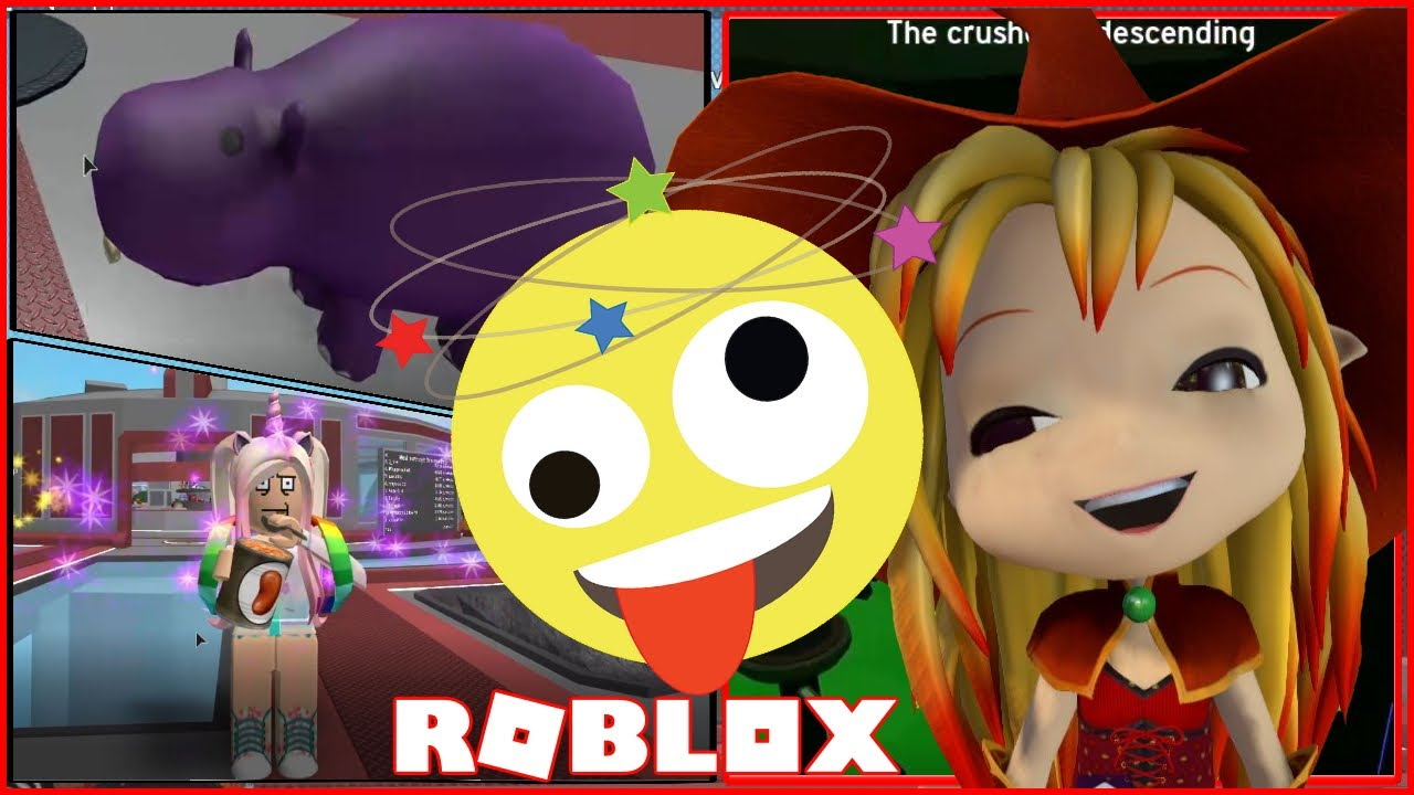 Chloe Tuber Roblox Murder Mystery 2 Gameplay Playing With Playing With Helen The Hippopotamus Roblox The Crusher Youtube