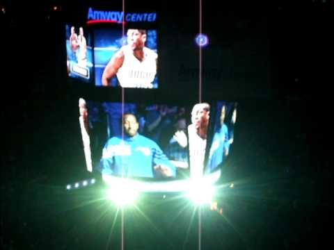 2011-2012 Orlando magic home season opener intro