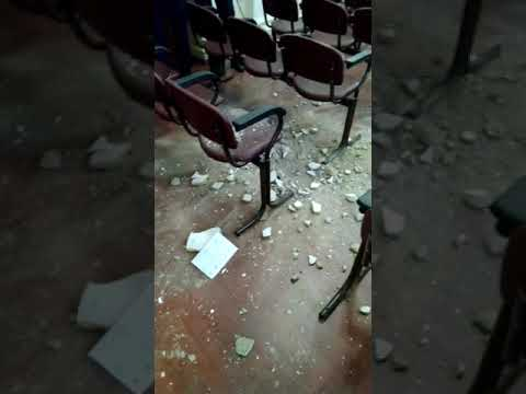 В Старой Руссе рухнула часть потолка во время заседания правительства
