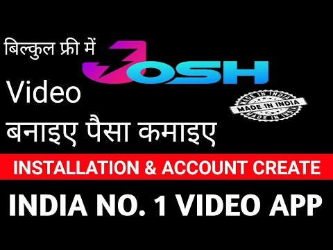 How To Josh App Download And Installation Free And Earn Money India No 1 Video App Santosh G Youtube