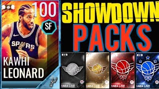 Kawhi Leonard Showdown Season - All Packs - NBA LIVE Mobile