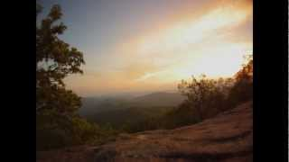 Blood Mountain Georgia - Appalachian Trail Sunset