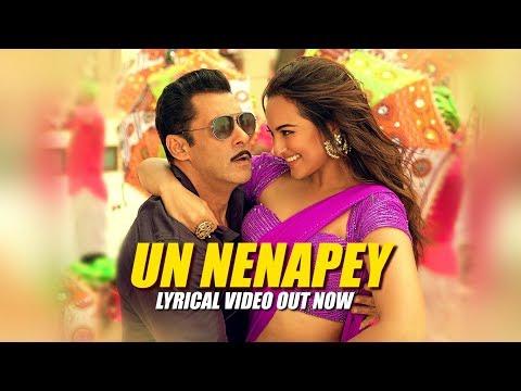 Un Nenapey Lyrical   Dabangg 3 Tamil   Salman Khan  Sonakshi S  Sajid Wajid  G.V.Prakash K,Remya N